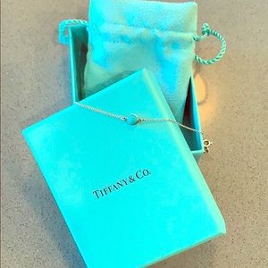 Tiffany & Co. Silver Peretti Turquoise bracelet